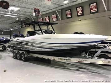 2018 Sunsation CCX 32 Ft Center Console Step Hull Performance Twin Mercury 400 Verado Outboard Boat - Photo 18 - Richmond, VA 23237