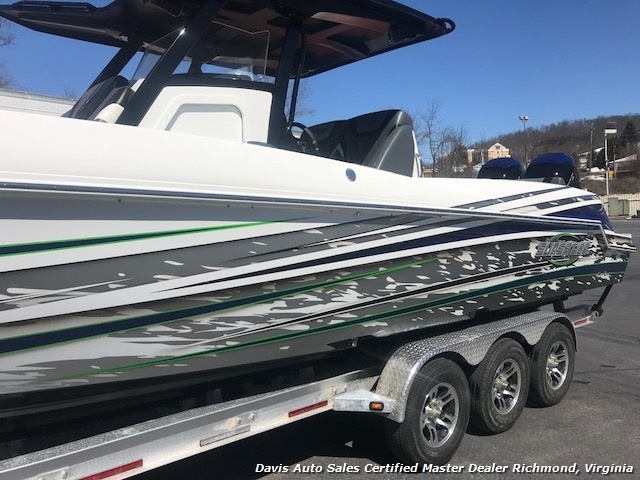 2018 Sunsation CCX 32 Ft Center Console Step Hull
