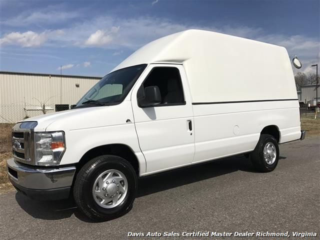 2010 Ford E Series Econoline 350 Sd Sel Extended Length High Top Work