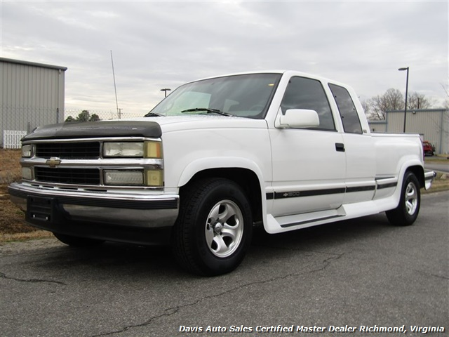 1996 Chevrolet Silverado 1500 C/K Extended Cab Short Bed Flare Step Side - Photo 1 - Richmond, VA 23237