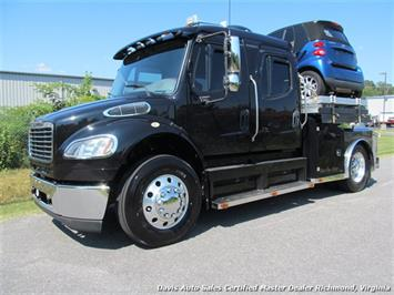 2007 Freightliner M2 106 Business Class Sport Chassis Crew Cab Lift System Truck