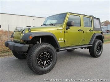 2007 Jeep Wrangler Unlimited X Sport SUV