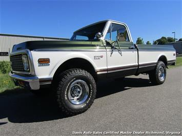 1971 Chevrolet Cheyenne C/K 10 4X4 Regular Cab Long Bed Truck