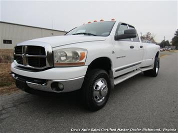 2006 Dodge Ram 3500 SLT 4X4 Quad Cab Long Bed Dually Truck