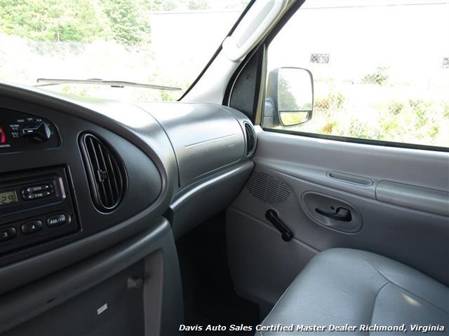 2005 Ford E350 Super Duty Econoline E-Series Power Stroke Turbo Diesel Cargo Work - Photo 8 - Richmond, VA 23237