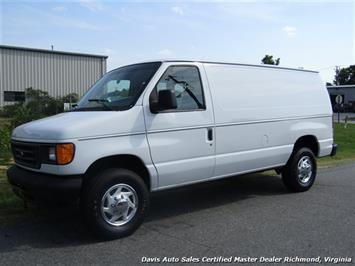 2005 Ford E350 Super Duty Econoline E-Series Power Stroke Turbo Diesel Cargo Work Van