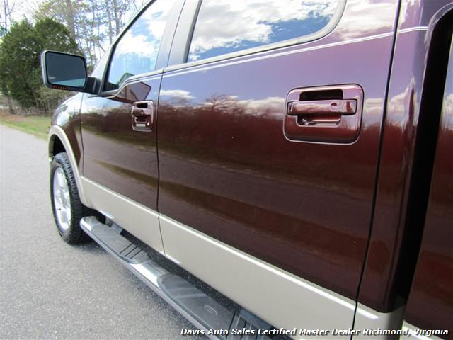 2008 Ford F-150 King Ranch Fully Loaded 4X4 SuperCrew Short Bed - Photo 27 - Richmond, VA 23237