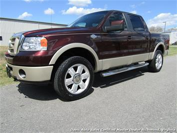 2008 Ford F-150 King Ranch Fully Loaded 4X4 SuperCrew Short Bed Truck