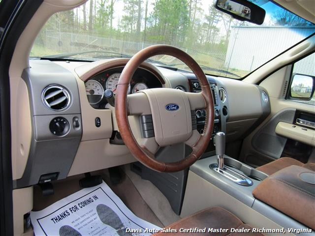 2008 Ford F-150 King Ranch Fully Loaded 4X4 SuperCrew Short Bed - Photo 26 - Richmond, VA 23237