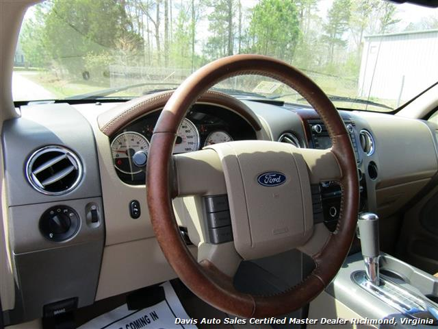 2008 Ford F-150 King Ranch Fully Loaded 4X4 SuperCrew Short Bed - Photo 7 - Richmond, VA 23237