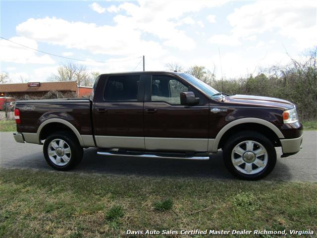 2008 Ford F-150 King Ranch Fully Loaded 4X4 SuperCrew Short Bed - Photo 18 - Richmond, VA 23237