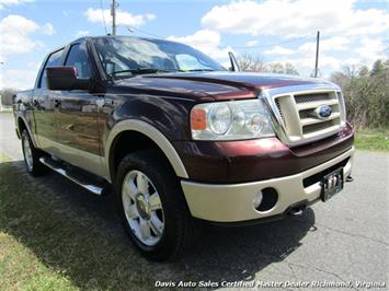 2008 Ford F-150 King Ranch Fully Loaded 4X4 SuperCrew Short Bed - Photo 17 - Richmond, VA 23237