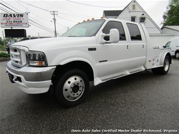 2003 Ford F-450 Super Duty Lariat 7.3 Diesel 4X4 Dually Crew Cab Western Hauler Bed Truck
