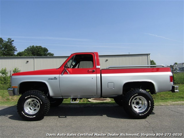 86 chevy short bed lifted