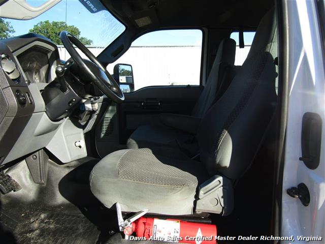 2011 Ford F-650 Super Duty XLT Pro Loader Quad Cab Roll Back Wrecker Tow Flat Bed - Photo 14 - Richmond, VA 23237