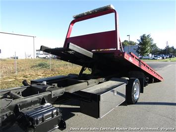 2011 Ford F-650 Super Duty XLT Pro Loader Quad Cab Roll Back Wrecker Tow Flat Bed - Photo 11 - Richmond, VA 23237