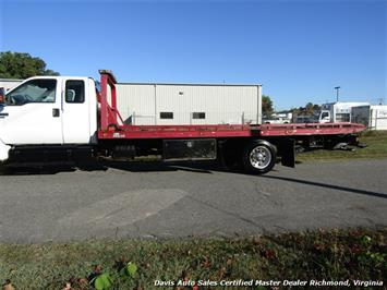 2011 Ford F-650 Super Duty XLT Pro Loader Quad Cab Roll Back Wrecker Tow Flat Bed - Photo 34 - Richmond, VA 23237