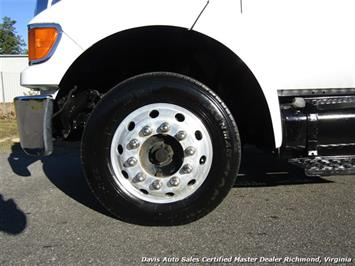 2011 Ford F-650 Super Duty XLT Pro Loader Quad Cab Roll Back Wrecker Tow Flat Bed - Photo 10 - Richmond, VA 23237