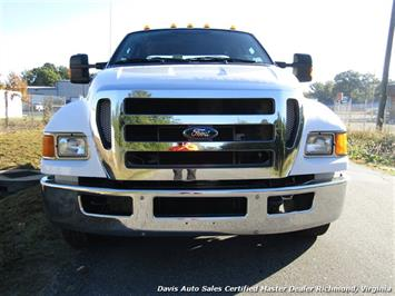 2011 Ford F-650 Super Duty XLT Pro Loader Quad Cab Roll Back Wrecker Tow Flat Bed - Photo 32 - Richmond, VA 23237