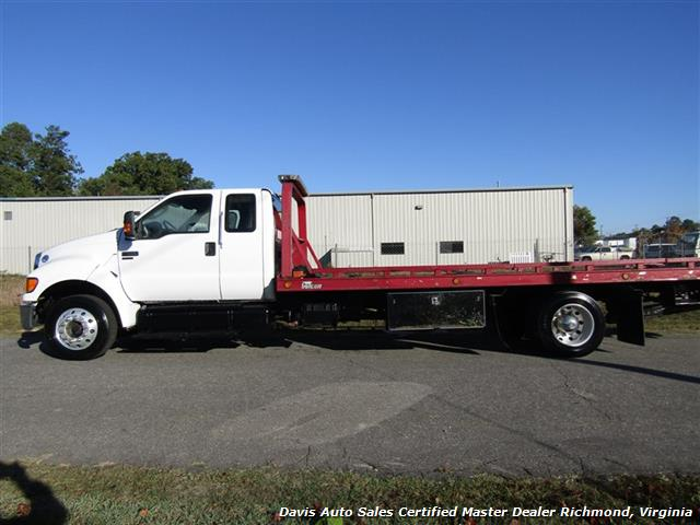 2011 Ford F-650 Super Duty XLT Pro Loader Quad Cab Roll Back Wrecker Tow Flat Bed - Photo 2 - Richmond, VA 23237