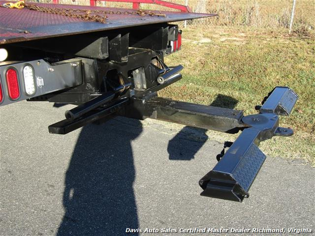 2011 Ford F-650 Super Duty XLT Pro Loader Quad Cab Roll Back Wrecker Tow Flat Bed - Photo 27 - Richmond, VA 23237