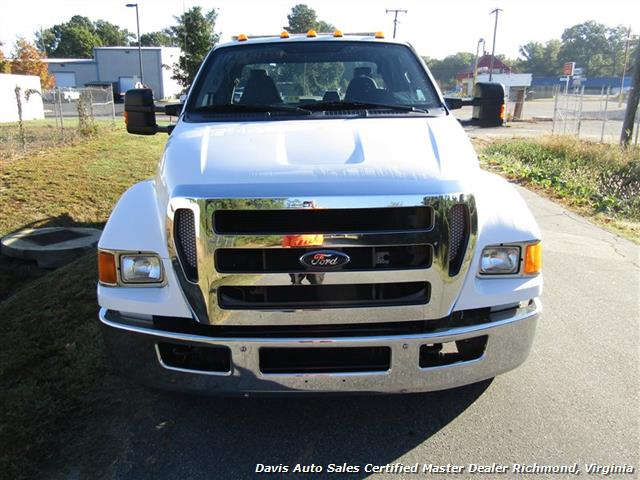 2011 Ford F-650 Super Duty XLT Pro Loader Quad Cab Roll Back Wrecker Tow Flat Bed - Photo 31 - Richmond, VA 23237