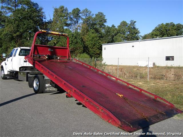 2011 Ford F-650 Super Duty XLT Pro Loader Quad Cab Roll Back Wrecker Tow Flat Bed - Photo 21 - Richmond, VA 23237