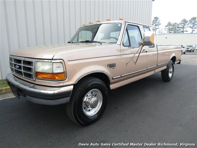 1996 Ford F 250 Xlt Clic Super Duty 7 3 Sel Obs Long Bed Ext