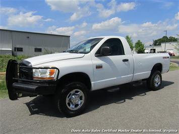 2006 Dodge Ram 2500 HD Cummins Turbo Diesel 5.9 TRX4 4X4 6 Speed Manual Regular Cab LB Truck