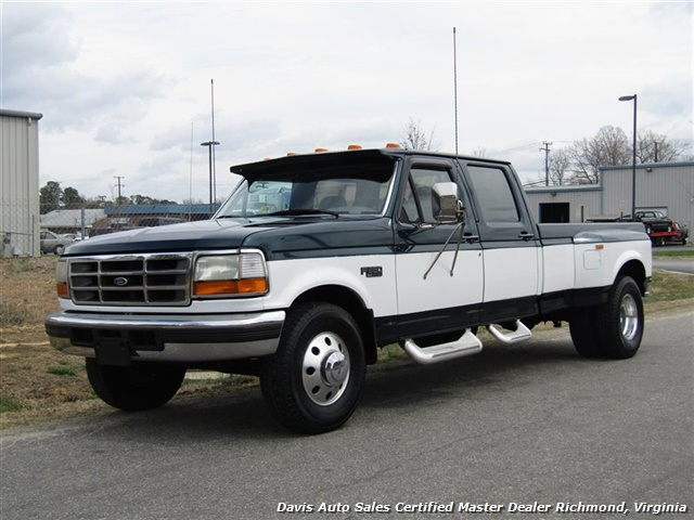 1996 Ford F-350 XLT OBS Loaded Dually Crew Cab Long Bed - Photo 1 - Richmond, VA 23237