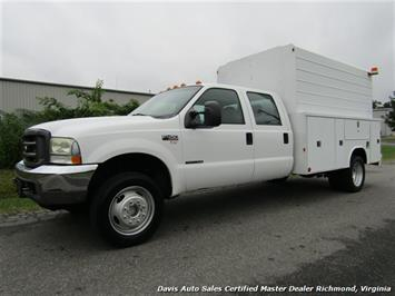 2004 Ford F-450 Super Duty XL Crew Cab Long Bed Reading Utility Bin Body Truck