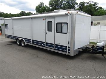 2007 Work And Play Forest River 30 Foot  Toy Hauler Camper