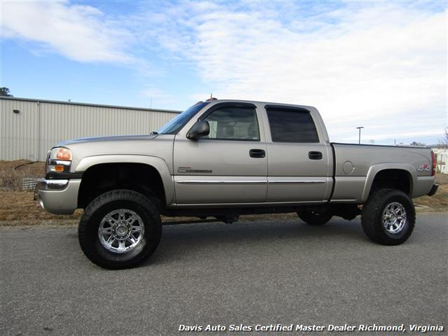 2003 gmc sierra 2500 hd slt duramax diesel lifted 4x4 crew cab short bed. Black Bedroom Furniture Sets. Home Design Ideas