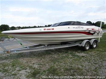 2006 Interceptor Caravelle 23 Foot Open Bow U Bottom Boat