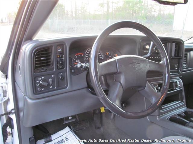 2003 Chevrolet Silverado 2500 Hd Ls Duramax 4x4 Quad Extended Cab Long Bed Photo 14