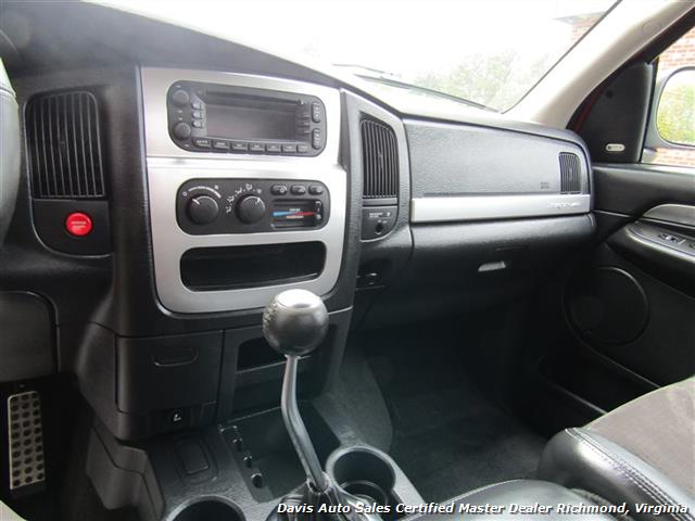 2005 Dodge Ram Pickup 1500 SRT-10 Viper Supercharged Manual 6 Speed
