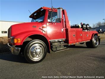 1998 International 4700 Navistar 4900 DT466 Diesel Dual Line Medium Wrecker Tow Truck