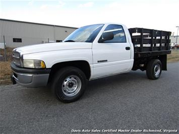 2000 Dodge Ram 2500 ST Regular Cab Stake Body Flat Bed Work Truck