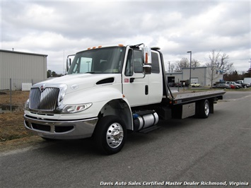 2015 International DuraStar 4300 MA025 Cummins Diesel Air Ride LCG Rollback Wrecker Tow Truck