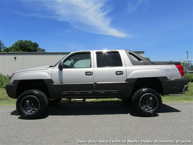 2005 chevrolet avalanche 1500 z71 lifted 4x4 crew cab short bed. Black Bedroom Furniture Sets. Home Design Ideas