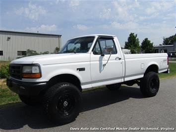 1993 Ford F-250 F-350 Super Duty XL Lifted Dana 60 Classic OBS 4X4 Truck