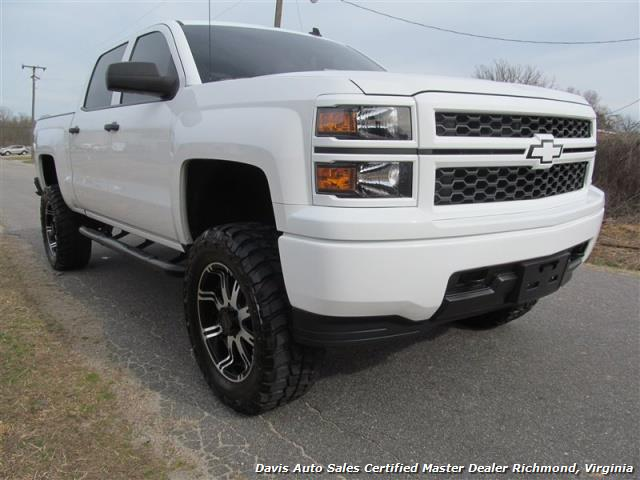 2014 chevrolet silverado 1500 lt lifted 4x4 crew cab. Black Bedroom Furniture Sets. Home Design Ideas