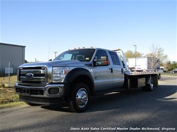2011 Ford F-550 Super Duty XLT 6.7 Diesel Rollback Wrecker Tow Truck