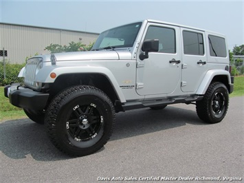 2012 Jeep Wrangler Unlimited Sahara SUV