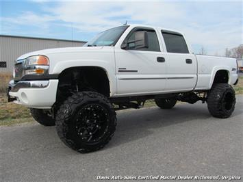 2005 GMC Sierra 2500 HD SLT 4X4 Short Bed Crew Cab Truck