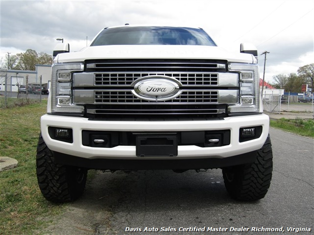 2017 Ford F-350 Super Duty Platinum 6.7 Diesel Lifted 4X4 Crew Cab - Photo 16 - Richmond, VA 23237