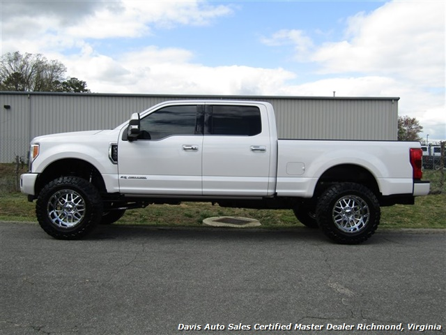 2017 Ford F-350 Super Duty Platinum 6.7 Diesel Lifted 4X4 Crew Cab - Photo 2 - Richmond, VA 23237
