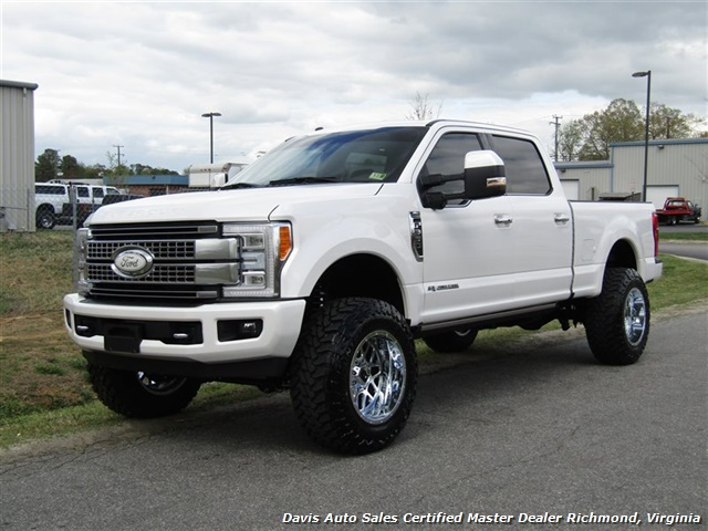 2017 Ford F-350 Super Duty Platinum 6.7 Diesel Lifted 4X4 Crew Cab - Photo 1 - Richmond, VA 23237