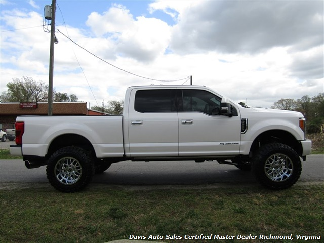 2017 Ford F-350 Super Duty Platinum 6.7 Diesel Lifted 4X4 Crew Cab - Photo 14 - Richmond, VA 23237
