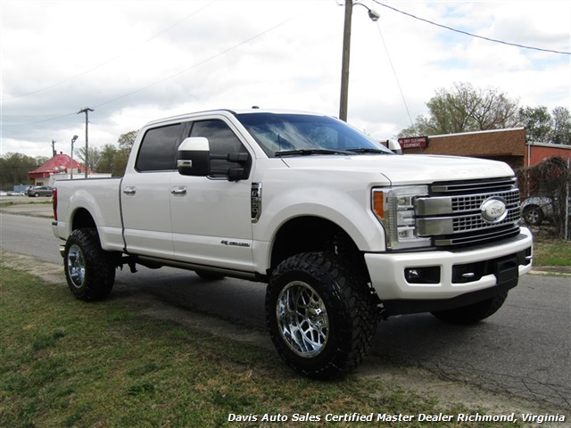 2017 Ford F-350 Super Duty Platinum 6.7 Diesel Lifted 4X4 Crew Cab - Photo 15 - Richmond, VA 23237